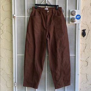Slouch espresso pants - matching set (2/2)